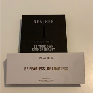 REALHER shadow and blush palette bundle